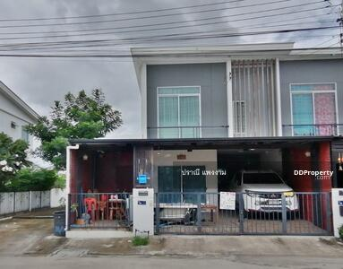 For Sale - ขายทาวน์เฮ้าส์หลังริม 27. 5 ตร. ว ต่อเติมเพิ่ม บ้านพฤกษา 119 รังสิต - คลอง2