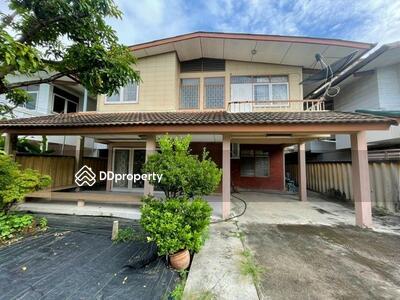 For Sale - 2 storey detached house for sale, 59 sq. wa, Sukhumvit area, Soi Wachiratham Sathit 64, Phra Khanong District, for sale 7. 1 million, near 2 BTS Punnawithi, BTS Udom Suk and the yellow line.