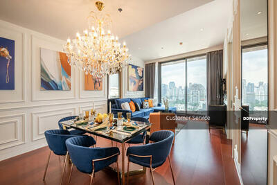 For Rent - CRP-S1-CD-642283 KHUN by Yoo for Rent, A Luxury condo on Thonglor 2 bed 2 bath, Fully Furnished. Close to BTS Thonglor