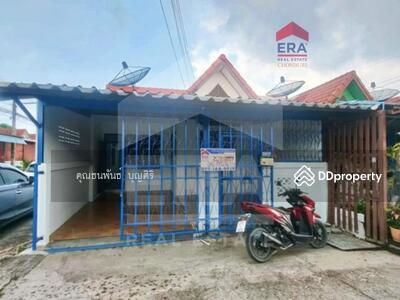 For Sale - ขายด่วน! ทาวน์เฮ้าส์ ชั้นเดียว หมู่บ้าน ชลพร เนื้อที่ 25 ตร. ว. ศรีราชา ชลบุรี