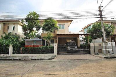 For Sale - Notify the code KRE-X6504 Single house Saransiri Pracha Uthit - Suksawat Thung Khru, 4 bedrooms, 2 bathrooms, 125 sq. m. , 2 floors, sold 3, 950, 000 baht **** If not answered, please add Line 0962215326 Khun On****