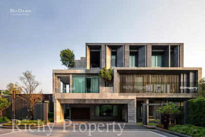 For Sale - HC040 Luxury detached house BUGAAN (Bukan) Yothin Phatthana, 4 bedrooms, 5 bathrooms, usable area 437 sq. m. , 3 floors