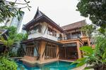 SALE - ขายบ้านไทยบาหลี Dharavadi Villa นาจอมเทียน 4 bedrooms (Ref 3077S) (1000 Sqm)