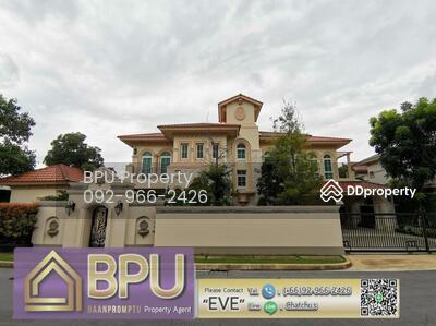 For Rent - ** 4 Bedrooms Luxury Single House for Rent ** Nantawan Bangna km. 7 near Mega Bangna