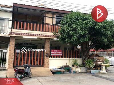 For Sale - ขายทาวน์เฮ้าส์หลังริม หมู่บ้านกิตตินคร บางปู สมุทรปราการ ต่อเติมพร้อมอยู่