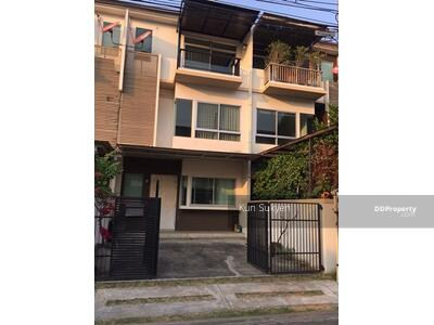 For Sale - ขาย ทาวน์โฮม 3ชั้น บ้านใหม่ รามอินทรา-คู้บอน 24. 40 ตร. ว. เขตคันนายาว กรุงเทพฯ ราคา 3, 550, 000 บาท